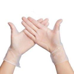 مستهلكة [بفك] قفّاز مسحوق حرّة فينيل قفّاز مع لمس ناعم