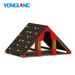 جديات لعبة خارجيّة لعبة أرض عائق مشروع صلبة خشبيّة يجعل متسلّق مع يصعد أحجار