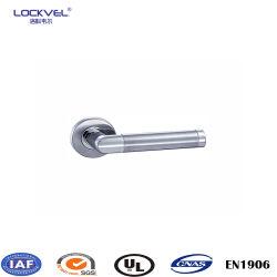 التصميم ذو التصميم الأوروبي مقبض الباب الداخلي المعدني الطبقة النهائية 304 فولاذ لا يصدأ