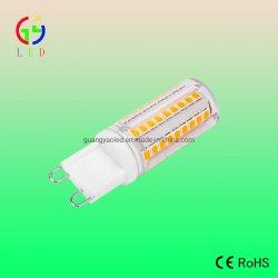 مصابيح SuperBright LED G9 58SMD 2835، مصابيح LED G9 بقوة 3 واط للإضاءة الكريستالية، قابس LED G9 ذو مسارين لمصباح غرفة النوم