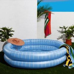 حوض سباحة كبير عميق قابلة للانتفاخ في حوض السباحة مستدير PVC للبيع