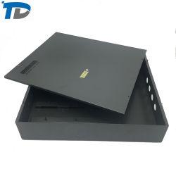 Fabrik-hohe Präzisions-Stahlblech-KastenExternal mit schwarzem Oberflächenende