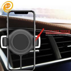هاتف مخصص مخصص مزود بمشبك تهوية السيارة اللاسلكي مزود بمشبك ثقل حامل شاحن للهاتف الذكي