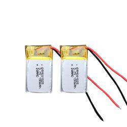 501520 190mAh 3.7V Prismatische Lipo met Msds- Certificaat