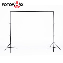2 x 2 m de la photographie du système de soutien de fond réglable Stand pour Photo Vidéo Studio avec sac de transport pour la pendaison de tissu de fond