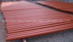 7ISO6594, EN877, ASTM A888 Ferro fundido cinzento do tubo de ferro