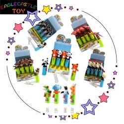 Het plastic Stuk speelgoed van de Kinderen van het Stuk speelgoed van het Stuk speelgoed van het Suikergoed van het Stuk speelgoed van het Stuk speelgoed Lawaaierige Dierlijke