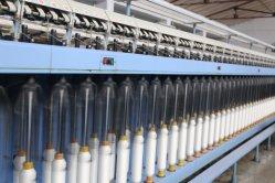 회전시키는 기계를 만드는 비상주 재봉틀용 무명실 털실