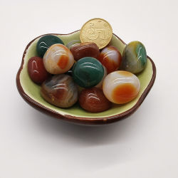 Groothandel Prijs Kristal Edelsteen Diversen Kleur Agaat Steen voor ornament