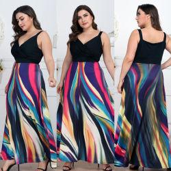 Крупных женских архив градиент самозажимных подвесов Sexy стандартов на резинке показать платье длинные юбки