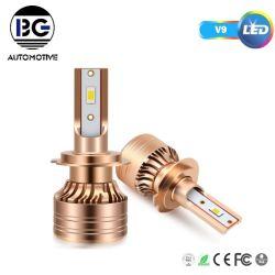 Heißer Verkauf Autoteile V9 Auto LED Scheinwerfer 75W LED Autolampe Autolampe