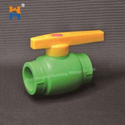 Valvola a sfera dei montaggi PPR di compressione di irrigazione