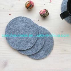 Decoração bebida absorvente personalizado sentida Coasters