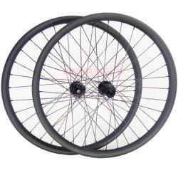 Scheibenbremse-Kohlenstoff Wheelset MTB des Kohlenstoff-Faser-Gebirgsfahrrad-Rad-27.5 des Zoll-25 der Höhen-35 breiter