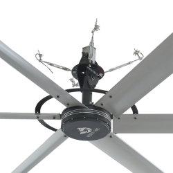 Un buen rendimiento 4.9meters gran ventilador de techo utilizado para la ventilación de la fábrica
