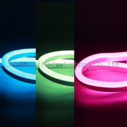 RGB 멀티 컬러 LED 스트립 조명 홀리데이 크리스마스 웨딩 장식 라이트 DC24V 플렉시블 SMD5050 LED 네온 램프 방수 IR Bluetooth WiFi 컨트롤러