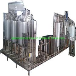 Em pequena escala, a linha de produção de leite de soja
