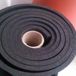 L'EPDM/SBR Feuille de caoutchouc mousse éponge 2-50mm épaisseur Noir Rouge l'isolation acoustique en caoutchouc de couleur orange