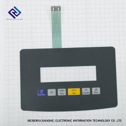 PCB personalizado Panel de interruptores de membrana de adhesivo con componentes eléctricos para el controlador Industrial