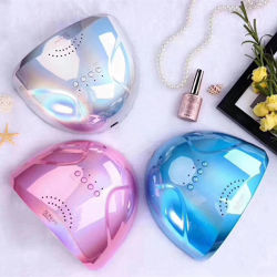 Bello gel UV lucido della lampada del chiodo dell'essiccatore 48W del chiodo di colore rosa Sun1 LED che cura macchina