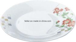 Lamina piana di ceramica bianca personalizzata di stampa