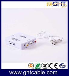고품질 HDMI-AV CVBS RCA AV 컨버터 지원 1080p