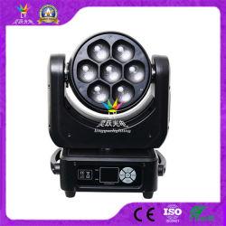 Bewegliche Hauptdisco-Beleuchtung DJ-DMX 7PCS 40W RGBW 4in1 LED