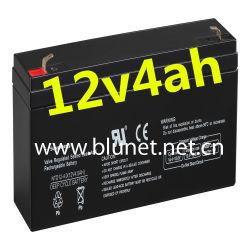 バックアップ力のための中国の鉛酸蓄電池12V4ah