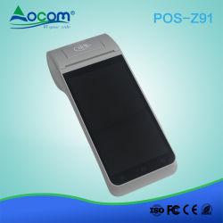 5'' Pantalla inalámbrica móvil 4G Android POS Terminal con impresora