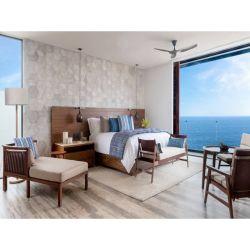 Luxe Hotel Interieur Slaapkamer meubels Set Chinese fabriek op maat gemaakt 5-sterren Hotelkamer