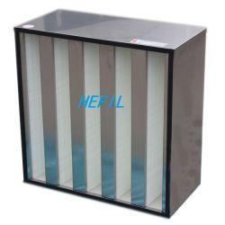 Фильтр HEPA PP материала V-Банк фильтр с низким сопротивлением
