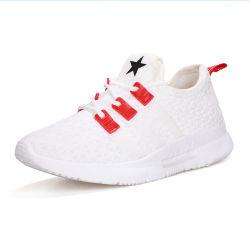 Fille de l'école de Sport Athlétisme Blanc Chaussures femmes Xiamen tissé chaussures de course occasionnel