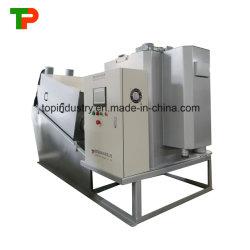 폐기물 Watertreatment를 위한 나선형 진창 탈수기의 ISO에 의하여 증명서를 주는 제조자
