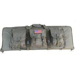 Venta caliente Bolsa de arma de doble capa del rifle con Mag Pouch