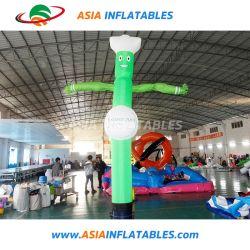 Горячая Продажа рекламы One-Leg надувной воздушный танцовщица