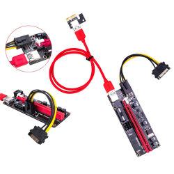 Версия 009s PCI-E 1X до 16X Ler переходная плата 009 Расширитель платы PCI USB 3.0