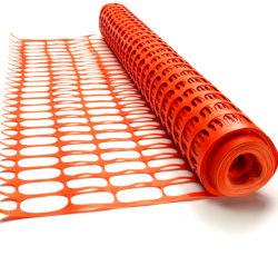 Cheap Plastique Le plastique orange Barricade Net Clôture de la construction