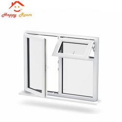 China-beste Aluminiumdoppelte Glasfenster-Aluminiumtür