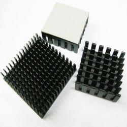 Dissipatore di calore quadrato personalizzato dell'aletta di Pin del rame