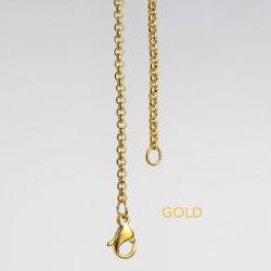 円形の真珠の吊り下げ式の装飾の香りの拡散器のネックレスのギフトのための金ローズの金の鎖