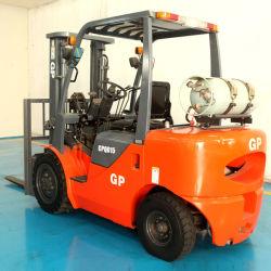 Gpl Hot Sale de haute qualité de l'essence GPL Gp de chariot élévateur à fourche 2tonne 2.5Ton Duel alimenté par carburant (chariot élévateur à fourche CPQYD20)