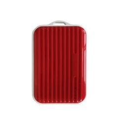 Cas de bagages en forme de banque d'alimentation, 10000mAh Chargeur de téléphone portable ultra-haute capacité bloc-batterie externe avec 2 sorties USB pour iPhone Samsung