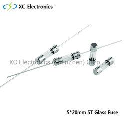 Glasglasgefäß der sicherung 5T 5*20mm langsame Schlag-Sicherung mit PSE und kc-Bescheinigung