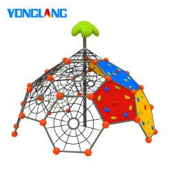 Yonglangの葉の上層(YL-PP004-02)を持つ屋外の子供の演劇のネットのクライマー
