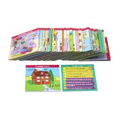 製造業者のカスタム印刷の子供党トランプゲームの一定の教育フラッシュカードのメモリ・カードのデッキによって印刷される学習はカスタマイズされる個人化されたトランプを梳く