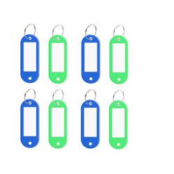 علامة شارات الصدر المخصصة PP Plastic Name Chic (الاسم البلاستيكي PP) مع حلقة المفتاح