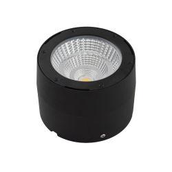 사무실 상점 블랙 피팅 천장 다운라이트 실내 천장 LED 조정 조광 가능 조명