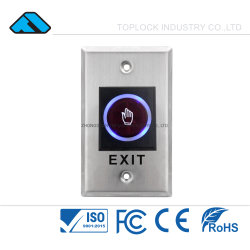 Электрический замок двери не нажмите Выход ИК-кнопки