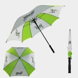 넓은 야외 스퀘어 모양의 우산 골프 사용자 지정 로고