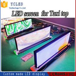 Светодиодный экран на открытом воздухе New-Designed P4 такси верхний индикатор экрана реклама 4G или управление WiFi умирают литой алюминиевый корпус